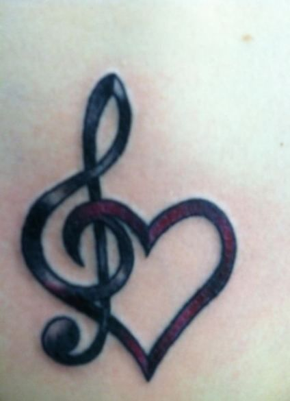 G Clef Tattoo (4)