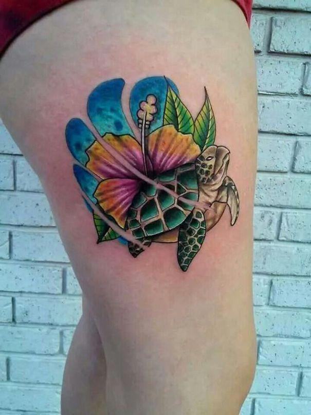 Hawaiian Island Chain Tattoo (10)