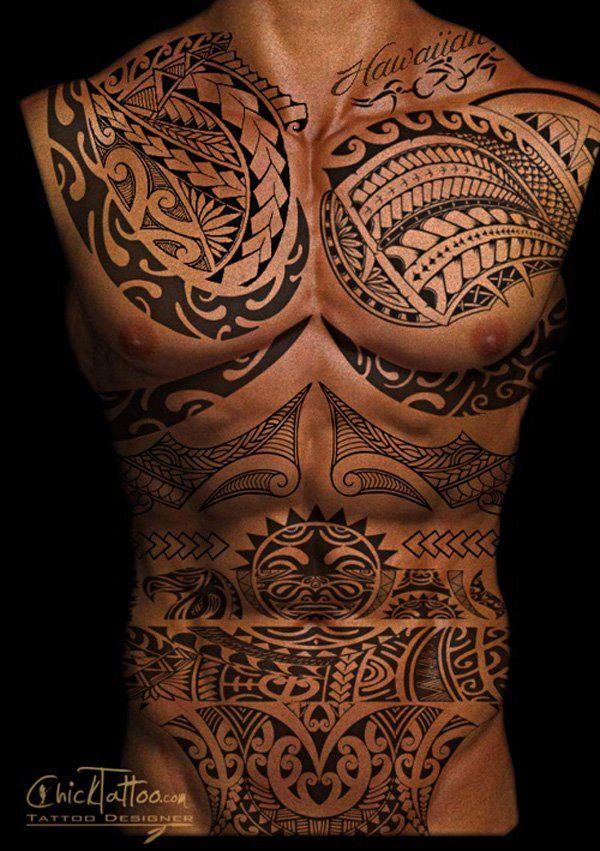Hawaiian Tiki God Tattoos (10)