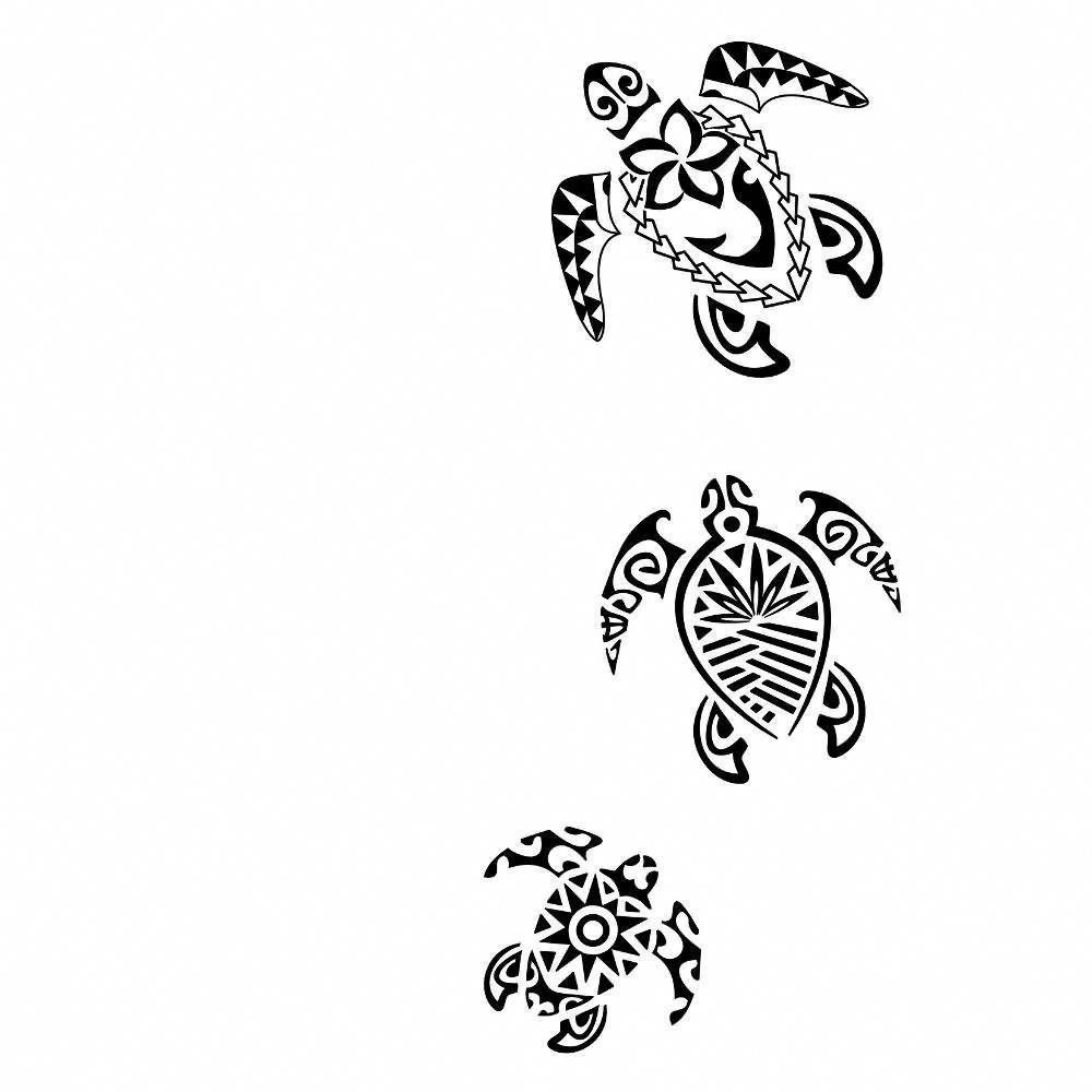 Hawaiian Tribal Tattoos For Men (2)