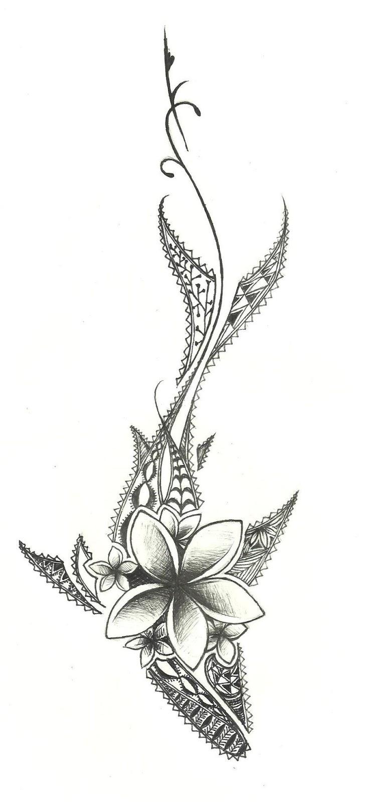 Hawaiian Warrior Tribal Tattoos (5)