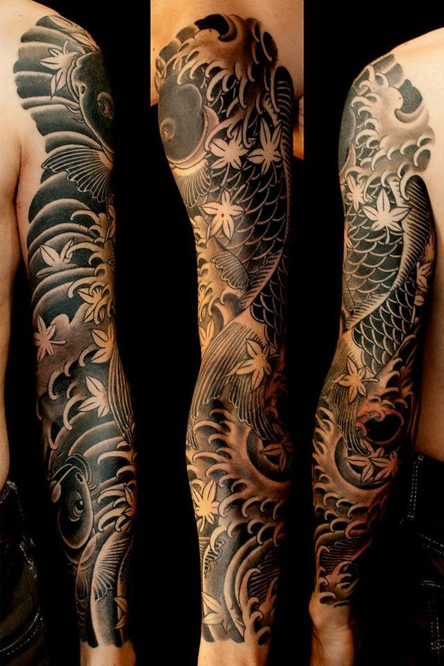 Japanese Color Tattoos