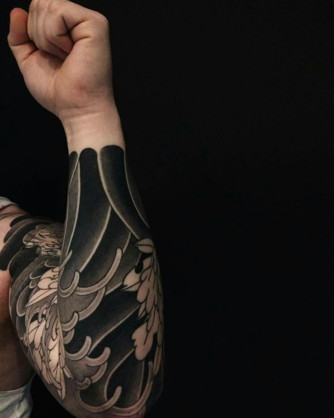Japanese Style Sleeve Tattoo Designs