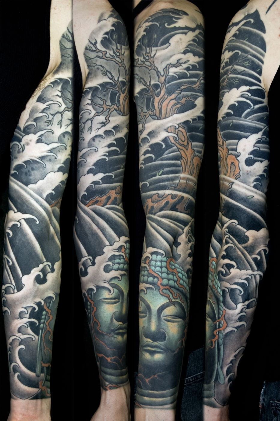 Japanese Themed Tattoo
