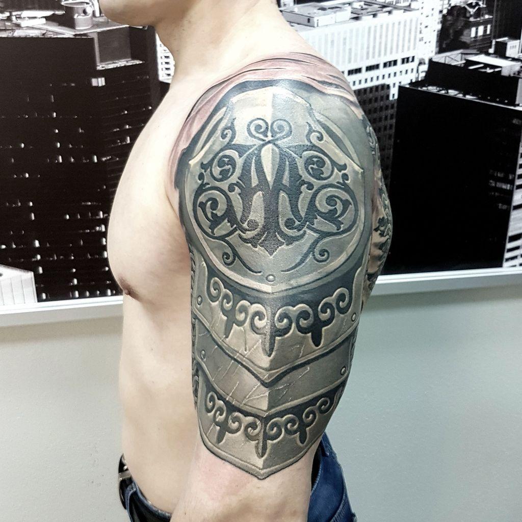 Men Shoulder Tattoos (6)