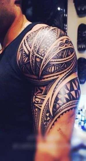 Men Shoulder Tattoos (9)