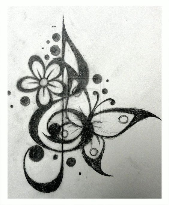 Music Note Tattoos Meaning (3) (1)