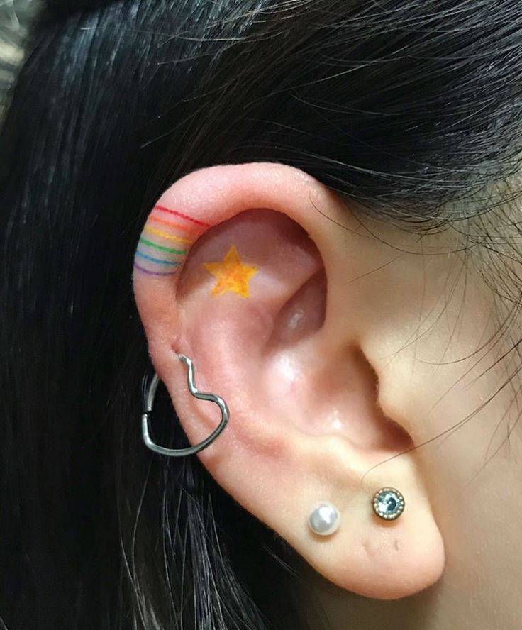 Rainbow Tattoo Designs (1)