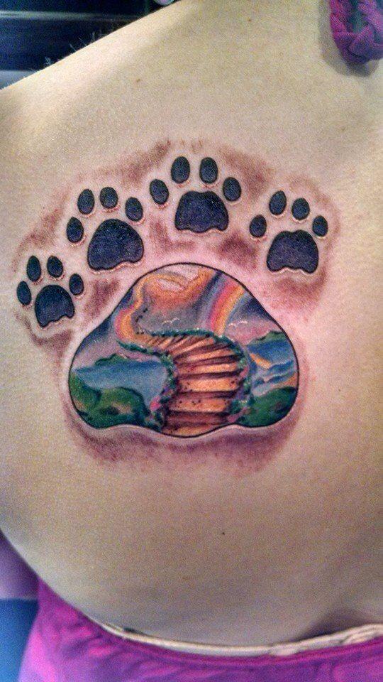 Rainbow Tattoo Designs (109)