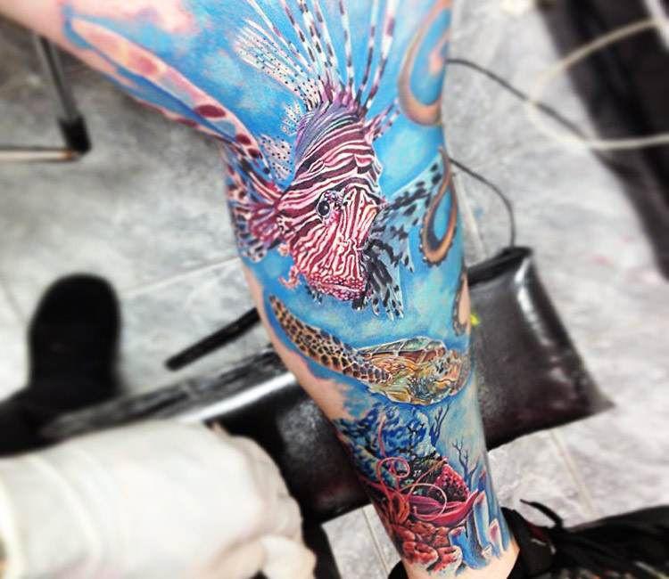 Rainbow Tattoo Designs (11)
