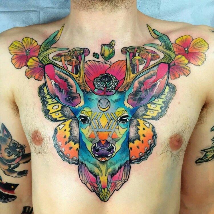 Rainbow Tattoo Designs (13)