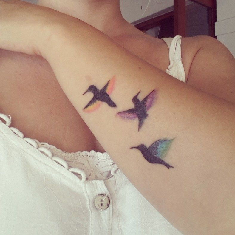 Rainbow Tattoo Designs (16)
