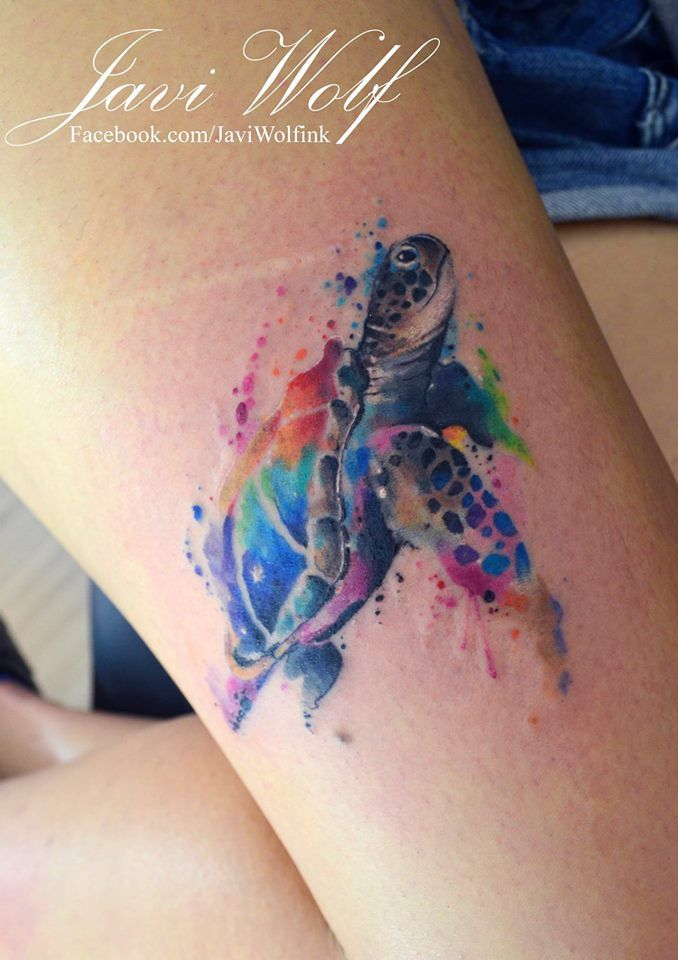 Rainbow Tattoo Designs (17)