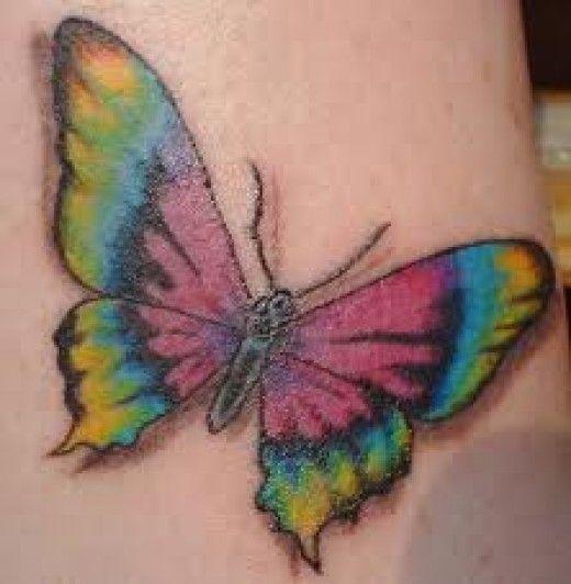 Rainbow Tattoo Designs (19)