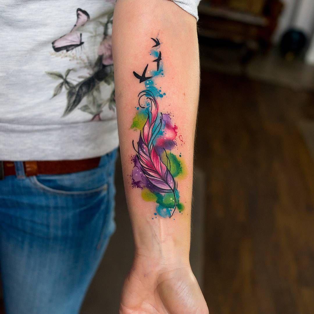 Rainbow Tattoo Designs (20)