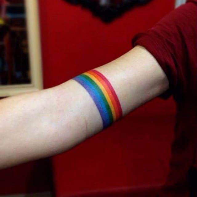 Rainbow Tattoo Designs (23)