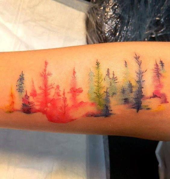 Rainbow Tattoo Designs (3)