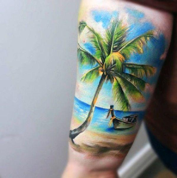 Rainbow Tattoo Designs (33)