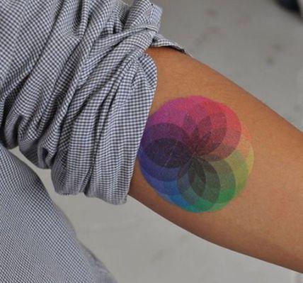 Rainbow Tattoo Designs (36)