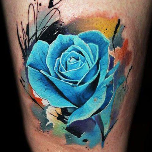Rainbow Tattoo Designs (38)