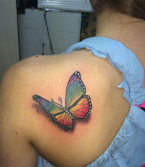 Rainbow Tattoo Designs (40)