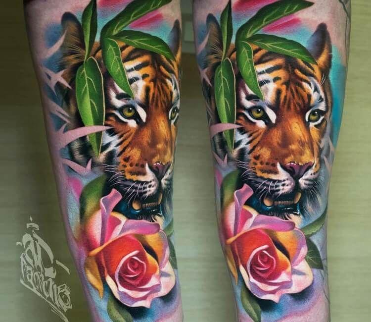 Rainbow Tattoo Designs (45)
