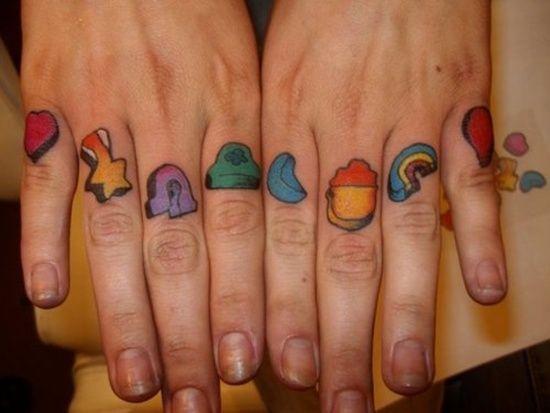 Rainbow Tattoo Designs (47)
