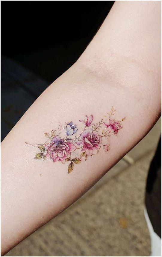 Rainbow Tattoo Designs (48)
