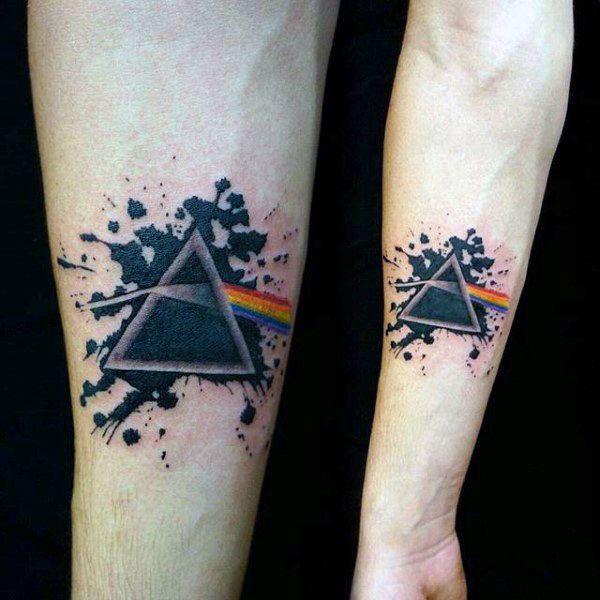 Rainbow Tattoo Designs (52)