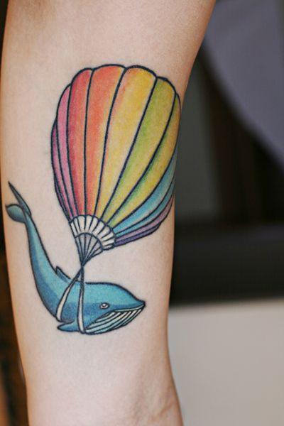 Rainbow Tattoo Designs (67)