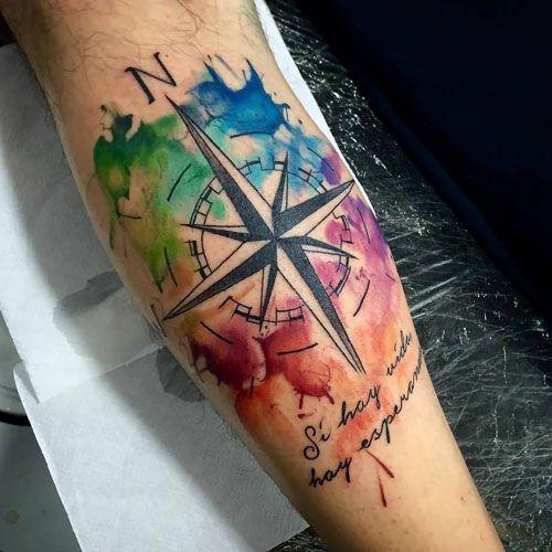 Rainbow Tattoo Designs (7)