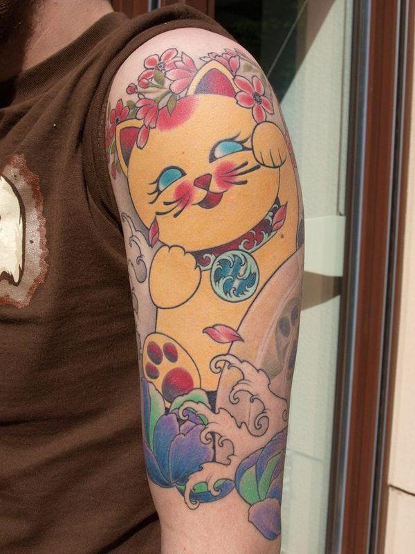 Rainbow Tattoo Designs (72)