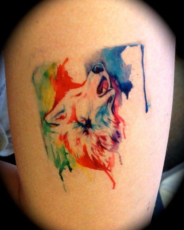 Rainbow Tattoo Designs (76)