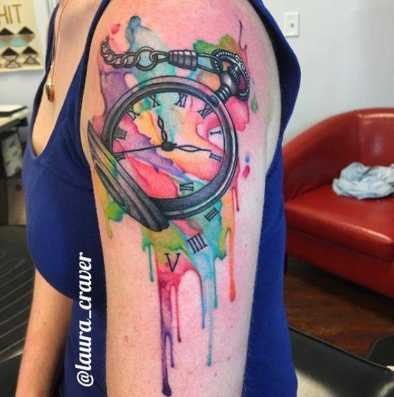 Rainbow Tattoo Designs (87)