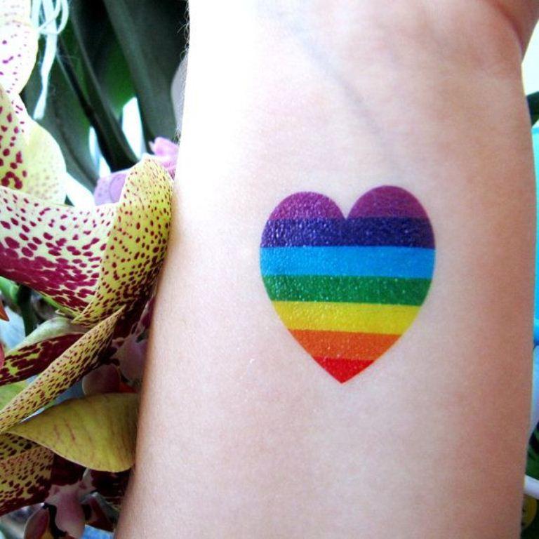 rainbow tattoo designs