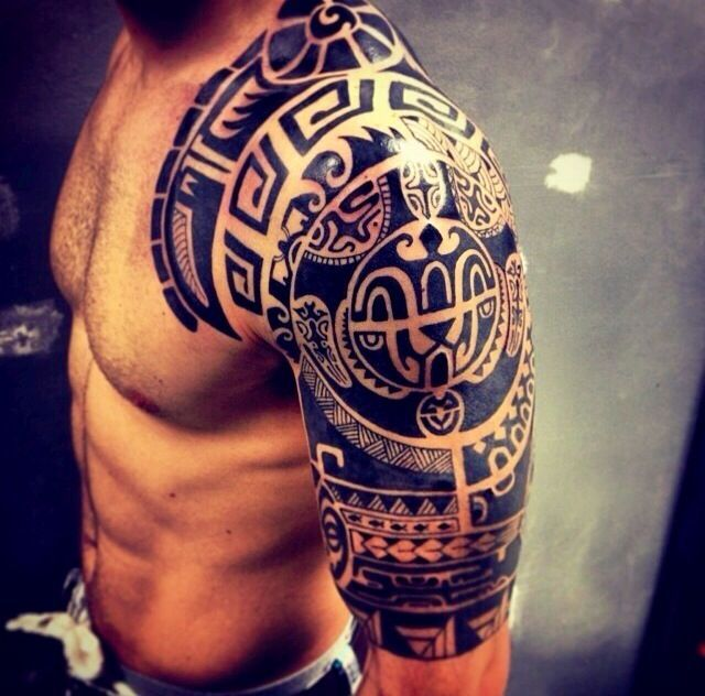 Shoulder And Arm Tattoos (3)