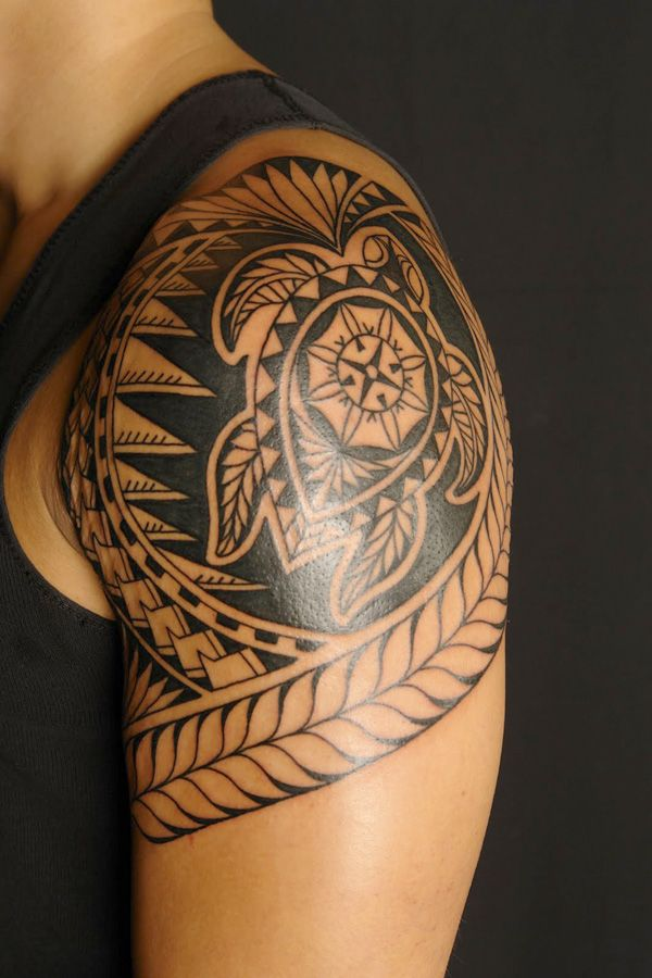 Shoulder And Chest Tattoos (10)