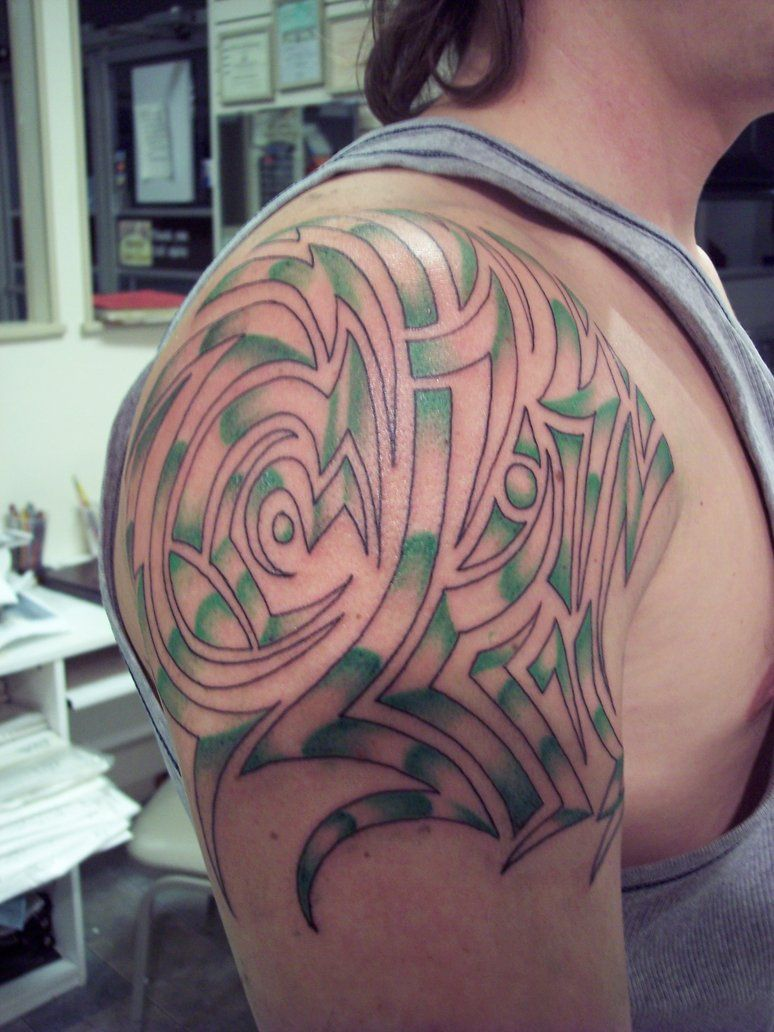 Shoulder And Chest Tattoos (4)