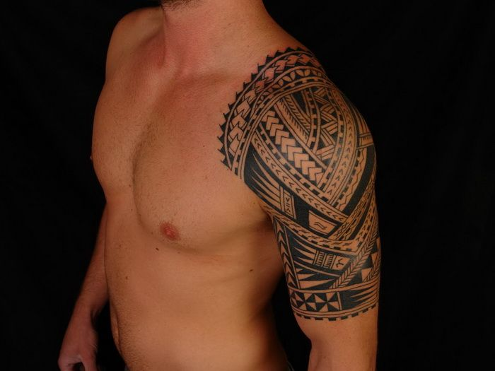 Shoulder And Chest Tattoos (5)