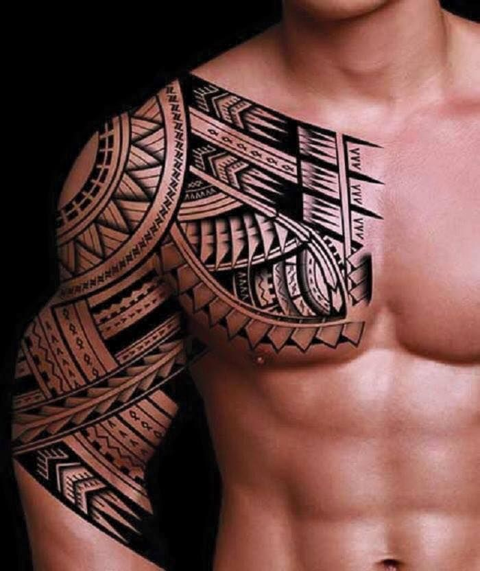 Shoulder Neck Tattoos (1)