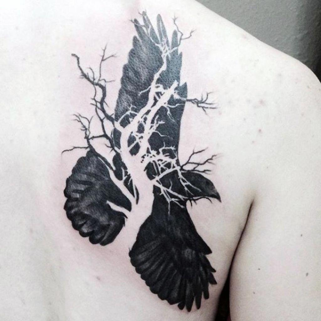 Shoulder Neck Tattoos (10)