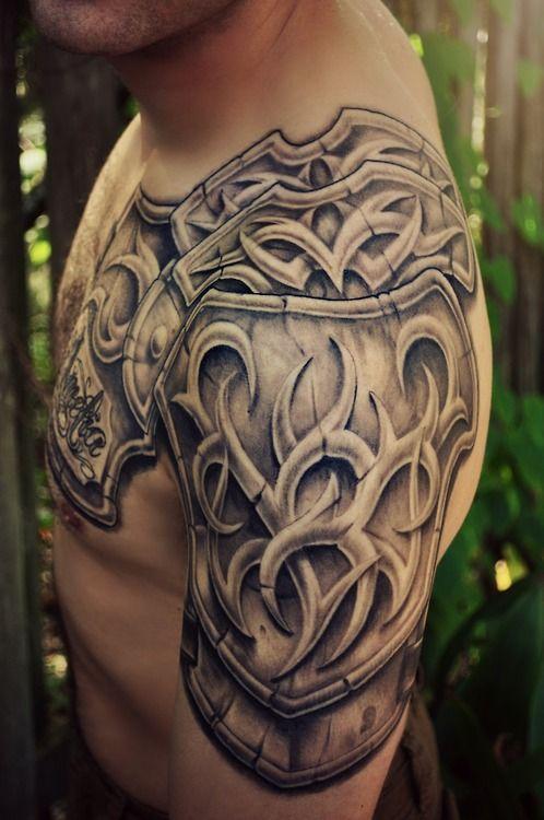 Shoulder Neck Tattoos (4)