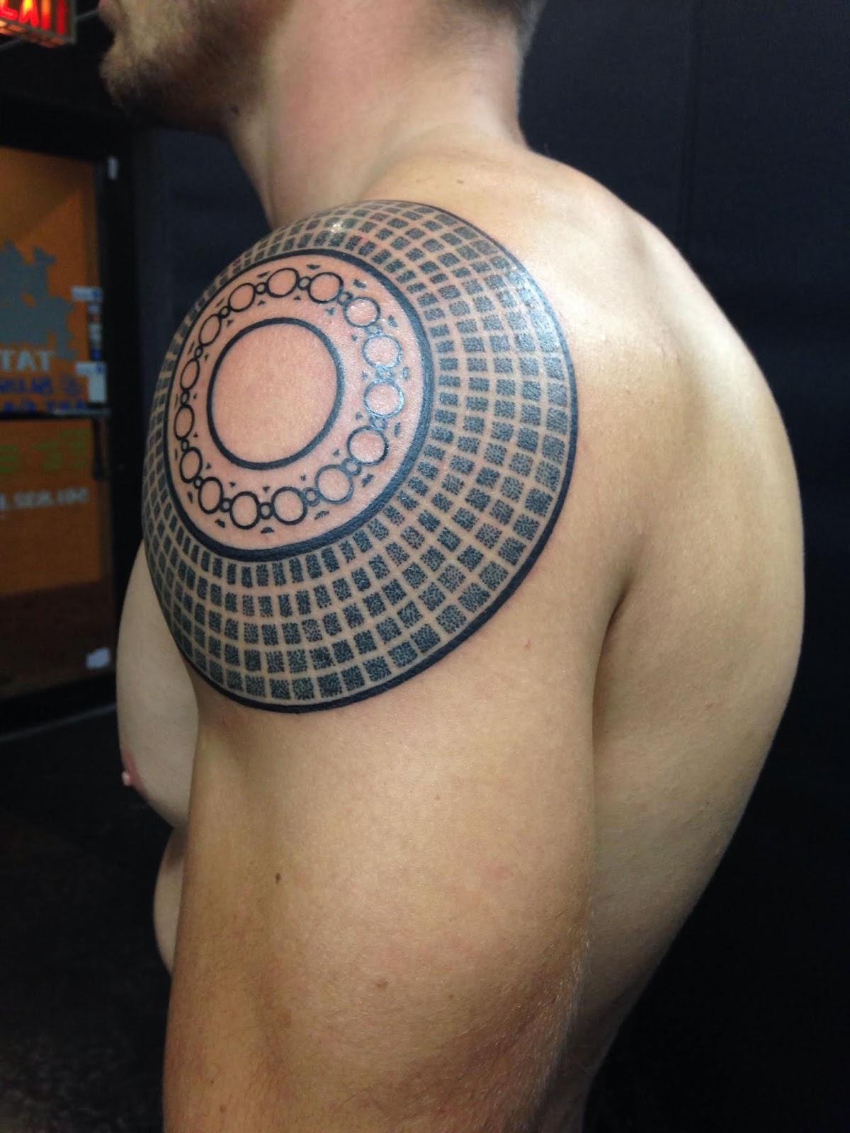 Shoulder Neck Tattoos (5)