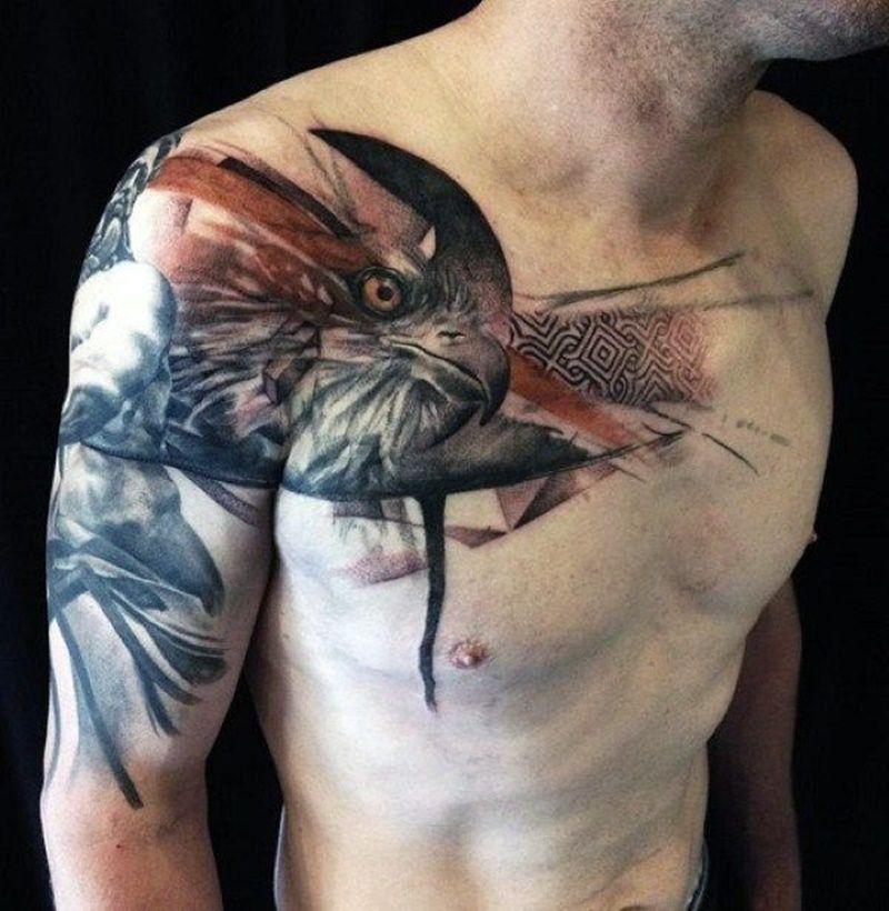 Shoulder Neck Tattoos (7)