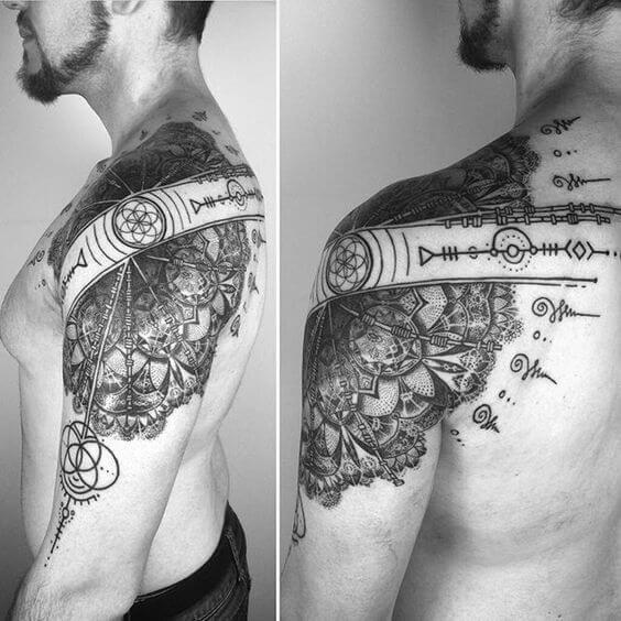 Shoulder Tattoos For Men Design Pictures (8)