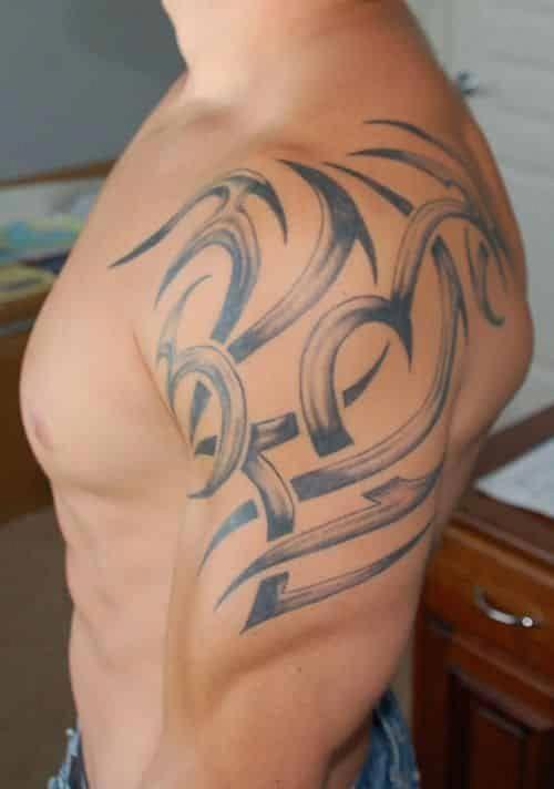 Shoulder Tattoos For Men Design Pictures (9)