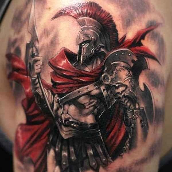 Shoulder Tattoos Ideas For Men (4)