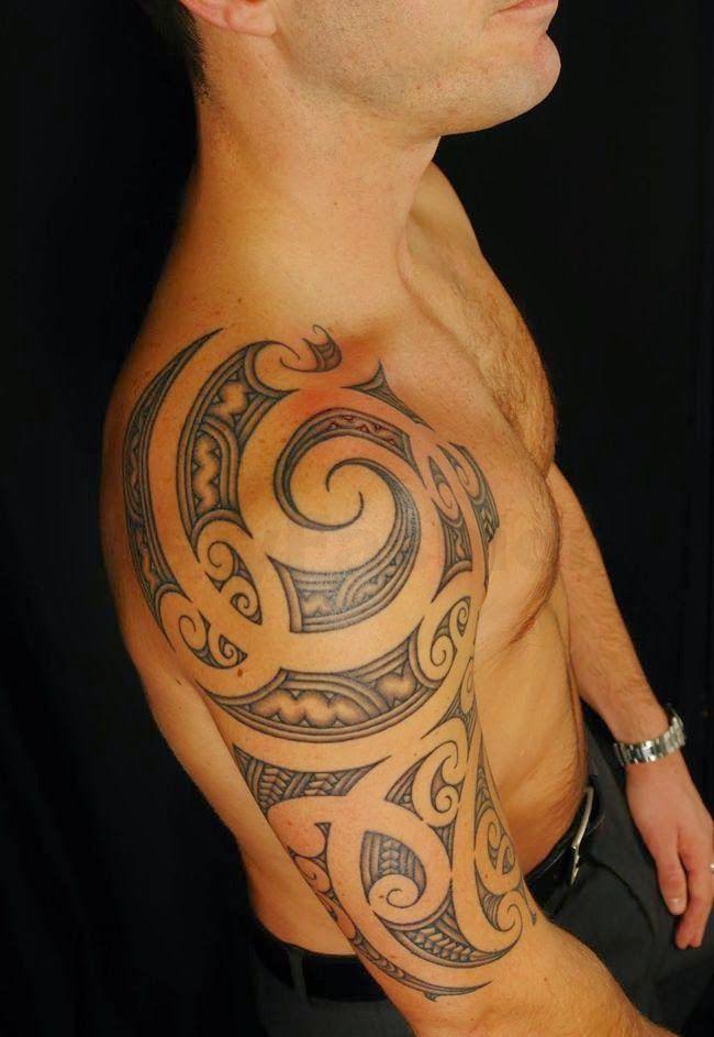 Shoulder Tattoos Ideas For Men (8)