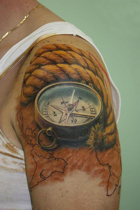 Shoulder Word Tattoos (11)