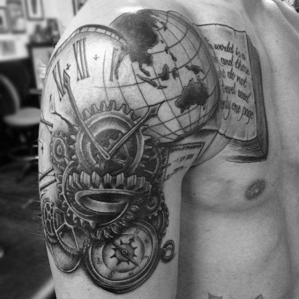 Shoulder Word Tattoos (3)